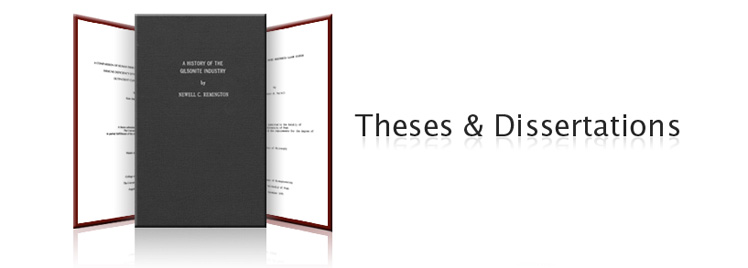 dissertation vs thesis usa