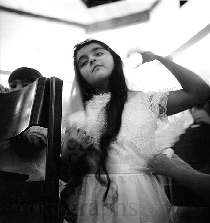 First Communion, Our Lady of Guadalupe Church (1986. Kent Miles)