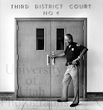 Officer Jake Green, Courthouse (1985. George Janecek)
