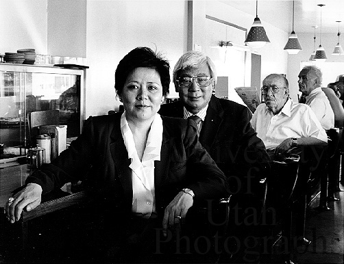 Bin and Margaret Yee, Jade Cafe (1986. George Janecek)