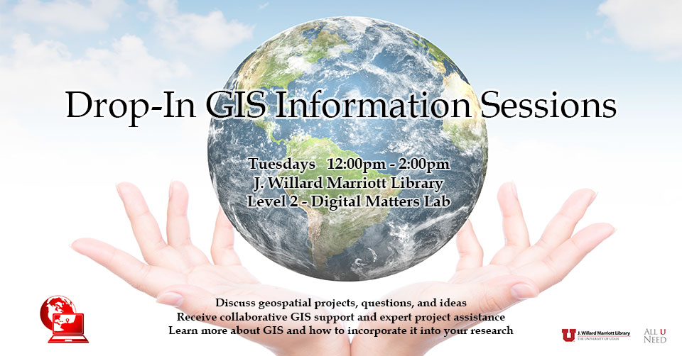 Drop-In GIS Sessions